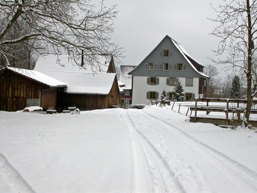 Obere Mühle im Winter