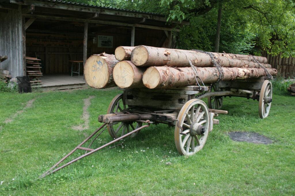 Langholzwagen