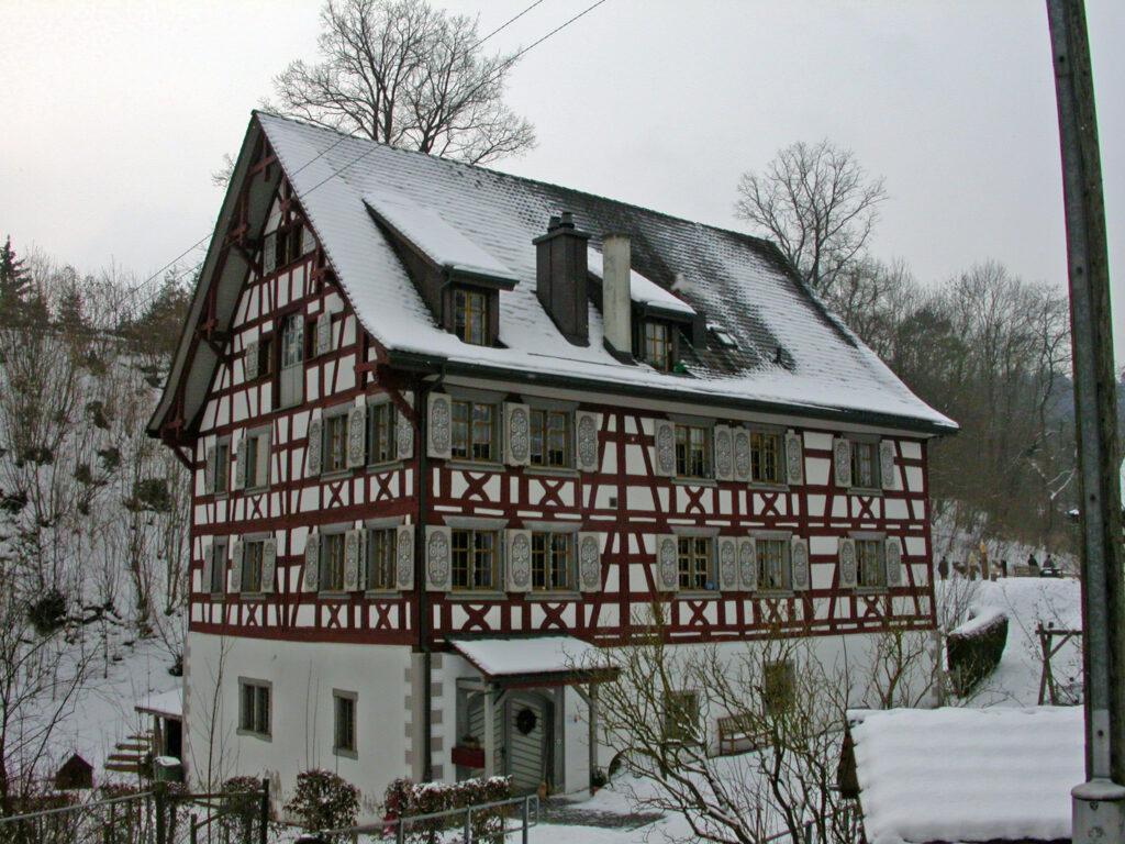 Obere Mühle Gebäude